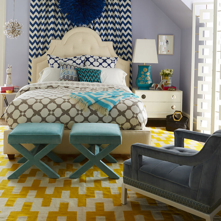 Jonathan Adler | Woodhouse King Bed 2