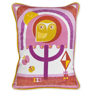 JA Baby - Junior Owl Throw Pillow