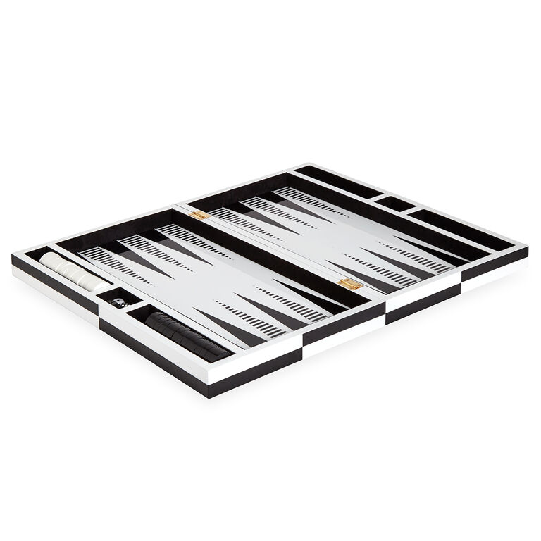 Games - Op Art Backgammon Set