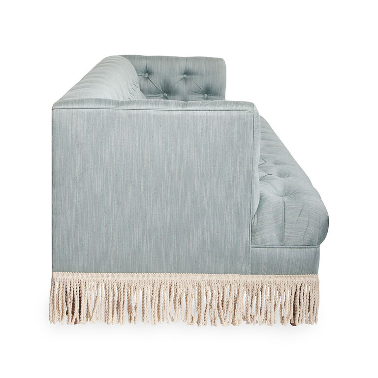 Jonathan Adler | Baxter T-Arm Sofa with Bullion Fringe 9