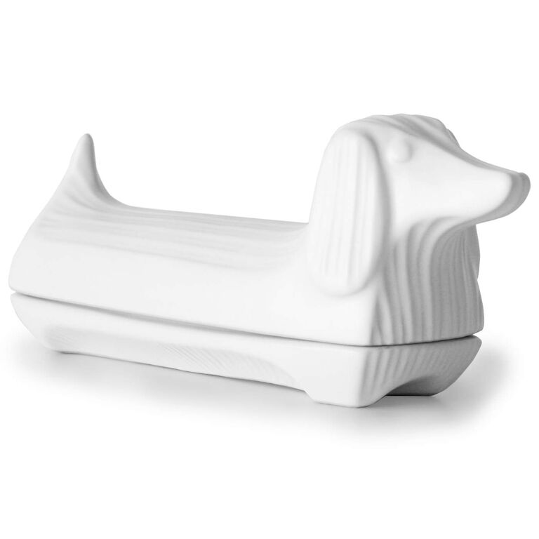 Butter Dishes - Ceramic Dachshund Butter Dish
