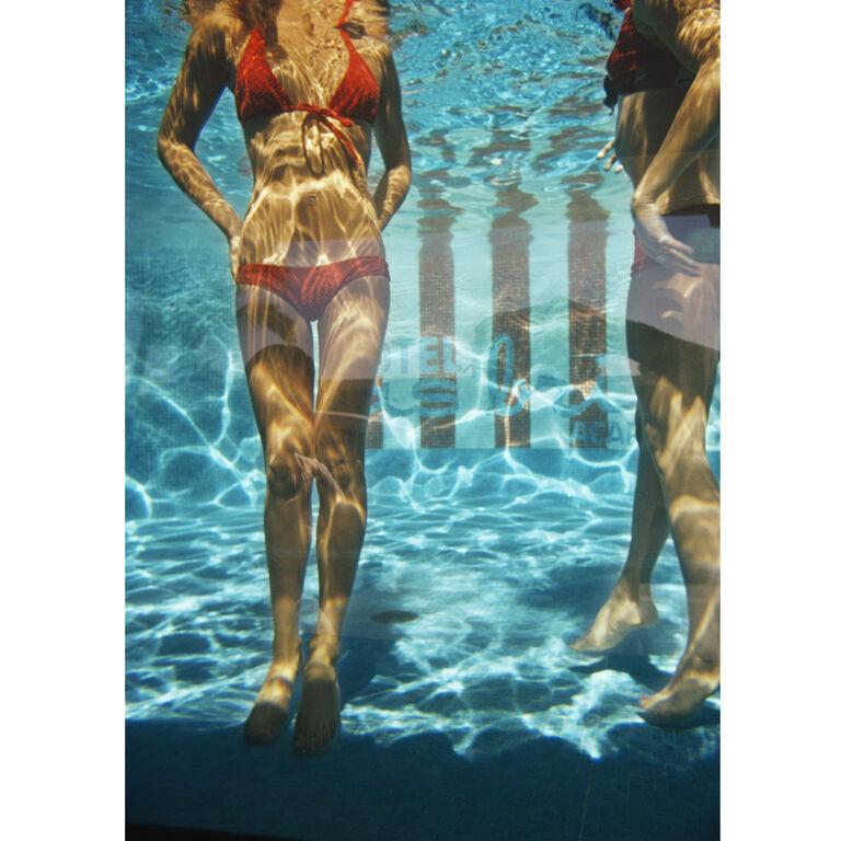 """Art - Slim Aarons """"Pool at Las Brisas"""" Photograph"""