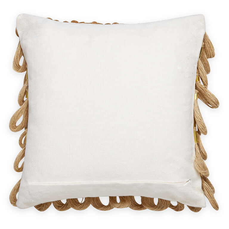 Textured & Embellished - Topanga Loop Pillow