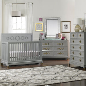 JA Baby - JA Crafted by Fisher-Price Deluxe Double Dresser