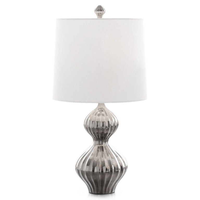 Table Lamps - Platinum Nelson Table Lamp