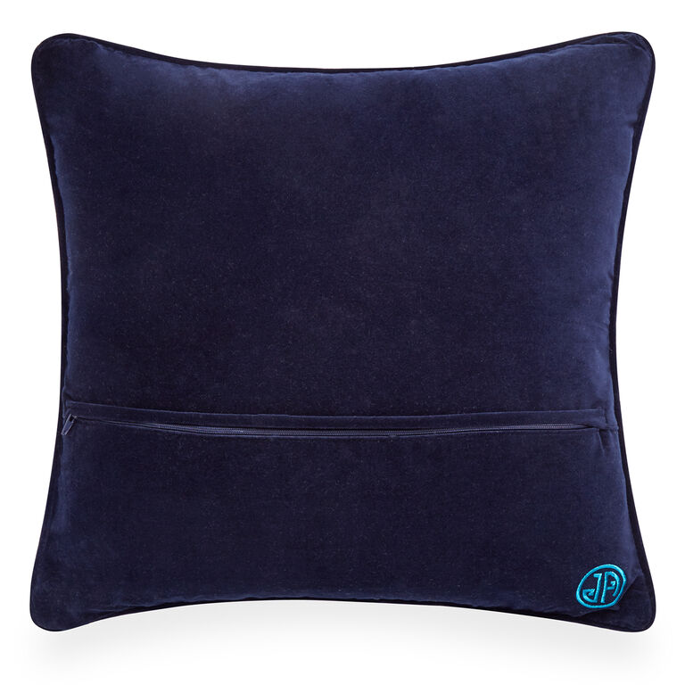 Holding Category for Inventory - Turquoise Bargello Honeycomb Throw Pillow
