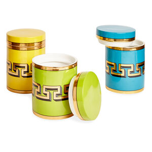 Cookie Jars & Canisters - Mykonos Canister Set