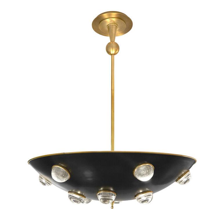 Globo demilune pendant light modern chandeliers for Best modern lighting websites