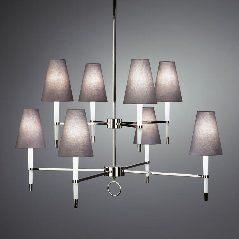 Chandeliers - Ventana Two-Tier Chandelier