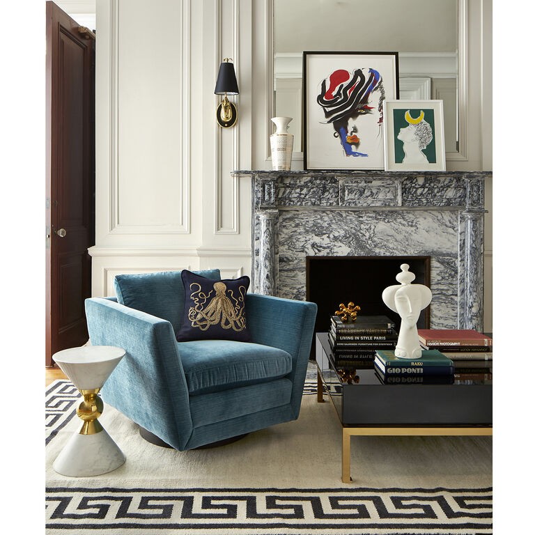 Jonathan Adler | Sebastian Swivel Chair 5