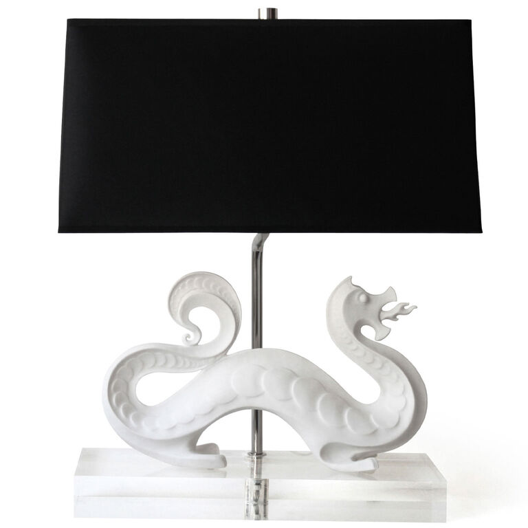 Holding Category for Inventory - Dragon Table Lamp