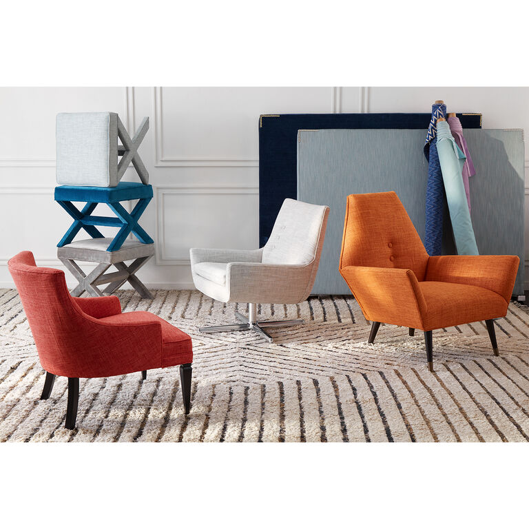 Jonathan Adler | Mrs. Godfrey Swivel Chair 5