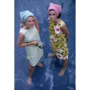 """Slim Aarons - Slim Aarons """"Palm Beach Ladies"""" Photograph"""