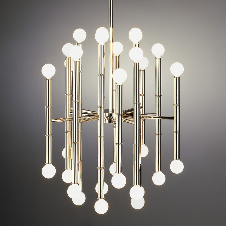 Meurice nickel chandelier modern chandeliers jonathan adler chandeliers meurice chandelier mozeypictures Image collections