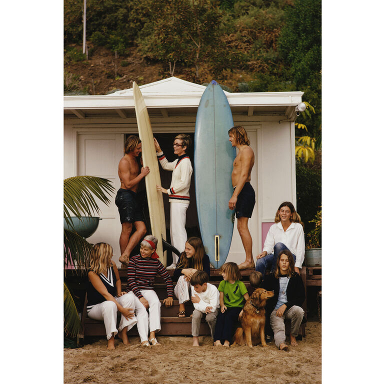 "Slim Aarons - Slim Aarons ""Laguna Beach"" Photograph"