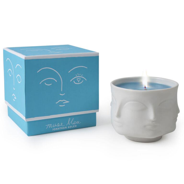 Muse - Muse Bleu Ceramic Candle