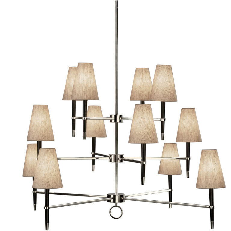 Chandeliers - Ventana Three-Tier Chandelier
