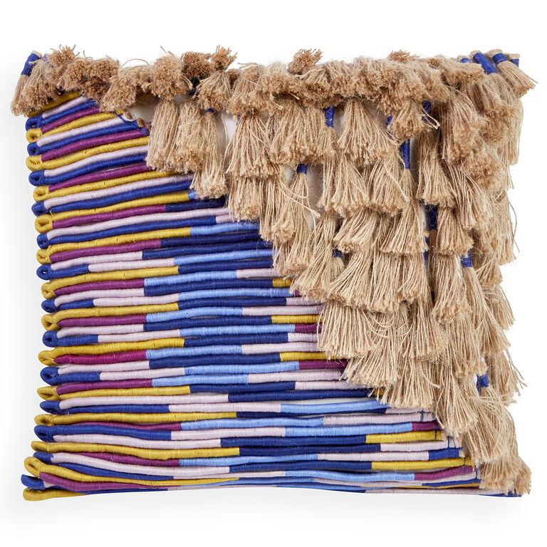 Textured & Embellished - Topanga Corded Pillow