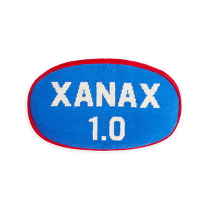 Needlepoint - Prescription Xanax Pillow