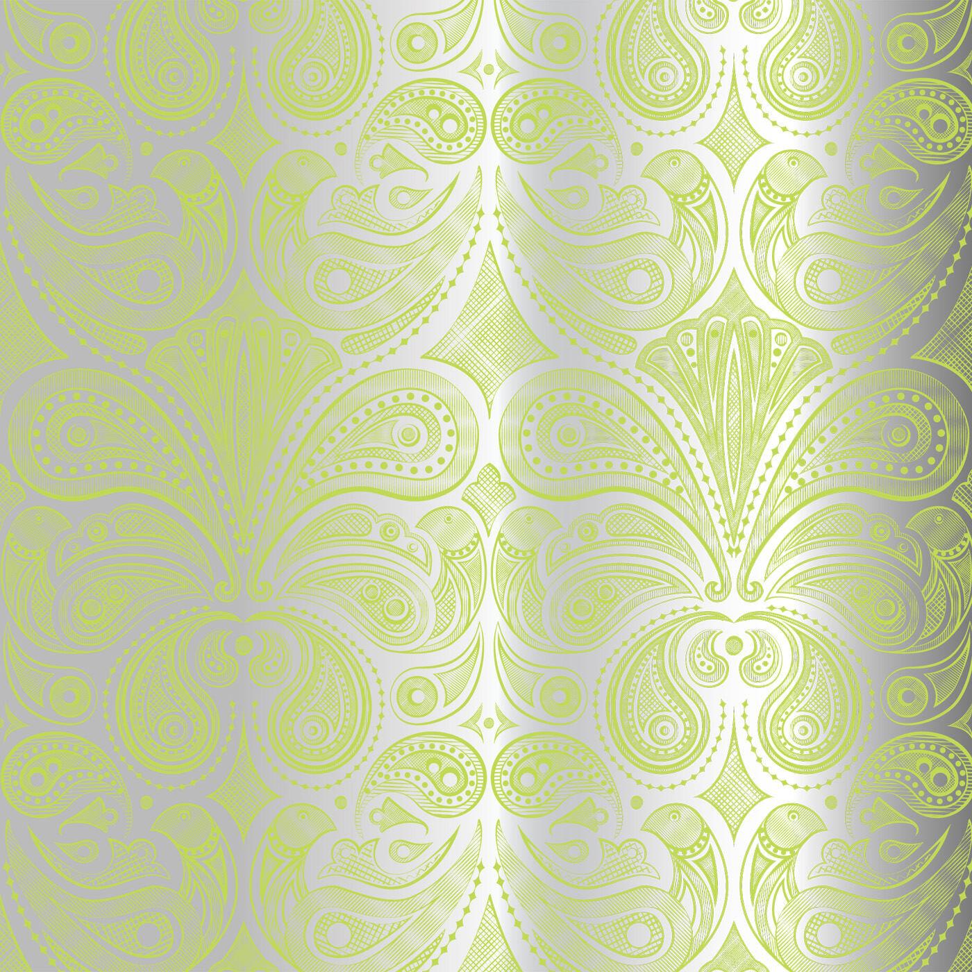 Wallpaper   Bird Paisley Wallpaper