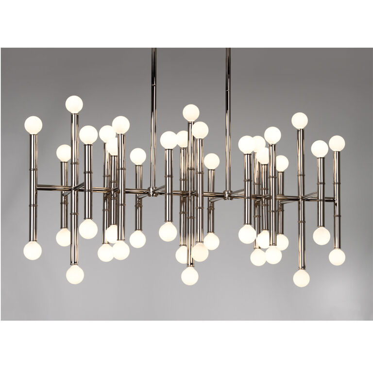 Chandeliers - Meurice Rectangle Chandelier