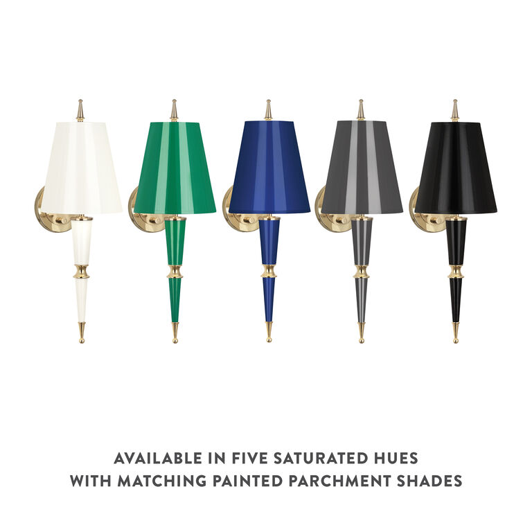 Wall Lamps & Sconces - Versailles Sconce with Painted Shade