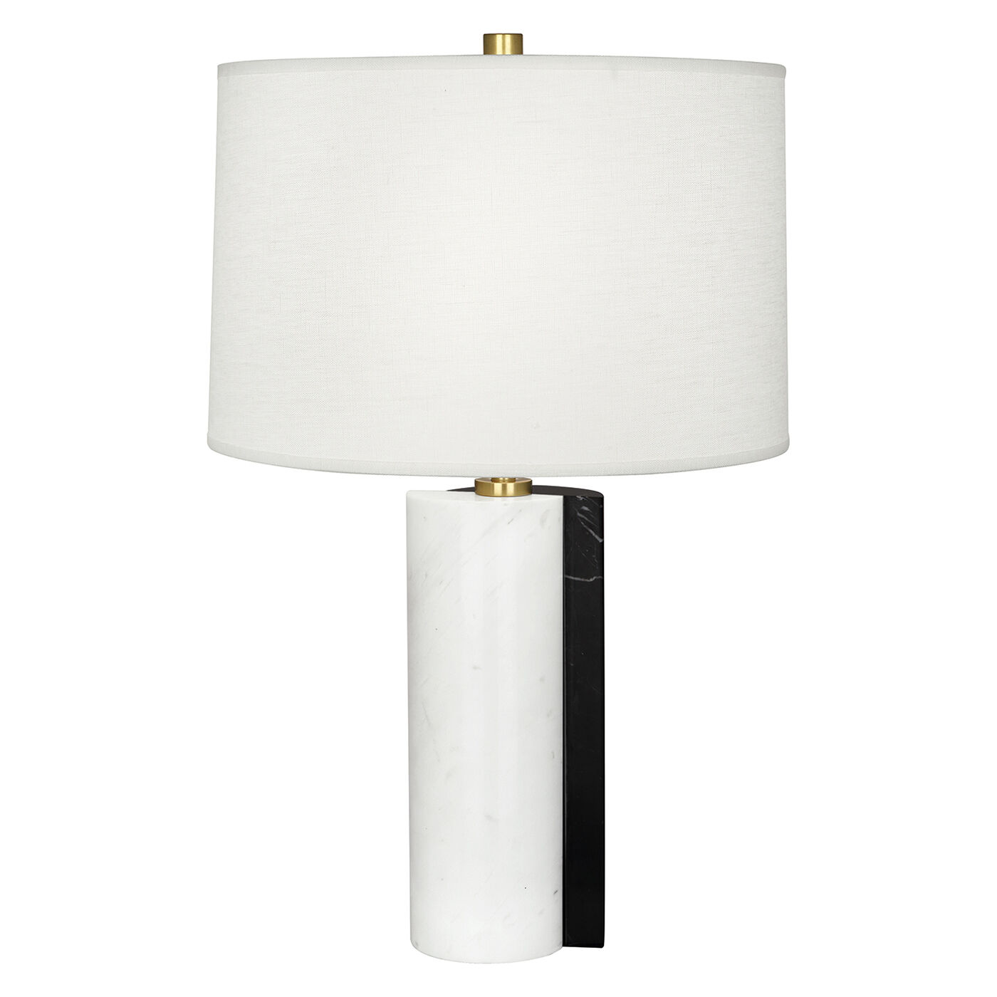 Canaan Shift Marble/WhiteTable Lamp   Modern Table Lamps ...
