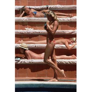 """Slim Aarons - Slim Aarons """"Catherine Wilke"""" Photograph"""