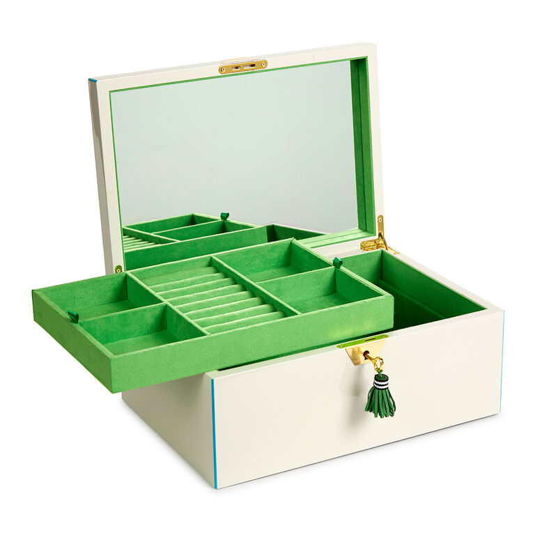 Boxes & Canisters - Large Lacquer Jewelry Box