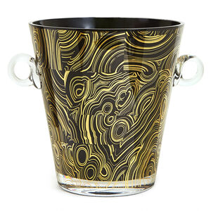 Ice Buckets - Malachite Ice Bucket