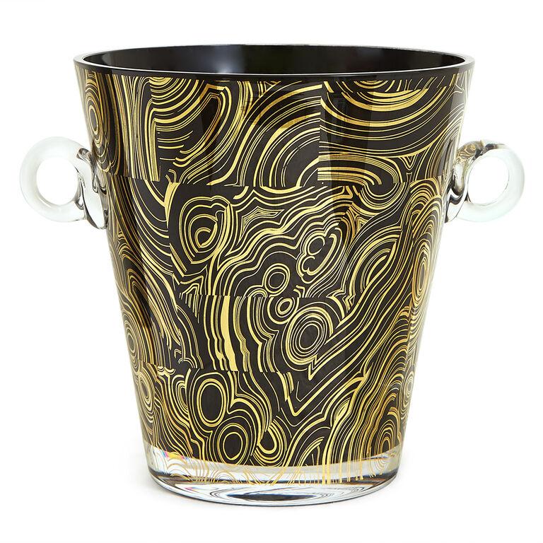 Ice Buckets - Malachite Ice Bucket