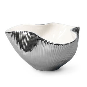 Bowls - Large Metallic Pinch Bowl