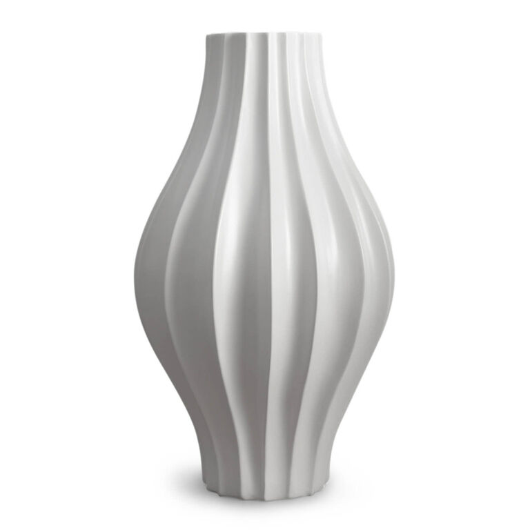 giant belly ceramic white vase pottery jonathan adler. Black Bedroom Furniture Sets. Home Design Ideas
