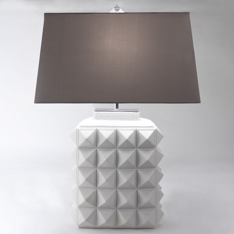 Table Lamps - Charade Studded Table Lamp