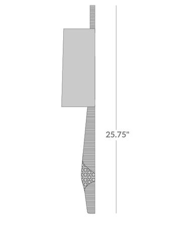 Giraffe Sconce Isometric 2