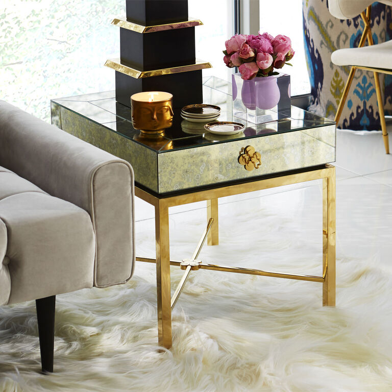 Side & Accent Tables - Delphine Side Table
