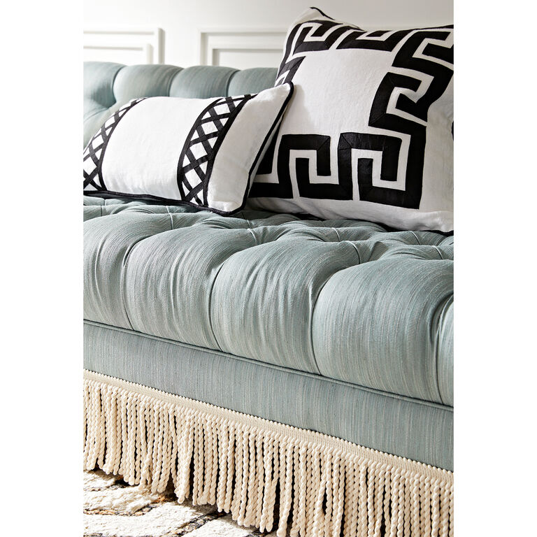 Jonathan Adler | Baxter T-Arm Sofa with Bullion Fringe 5