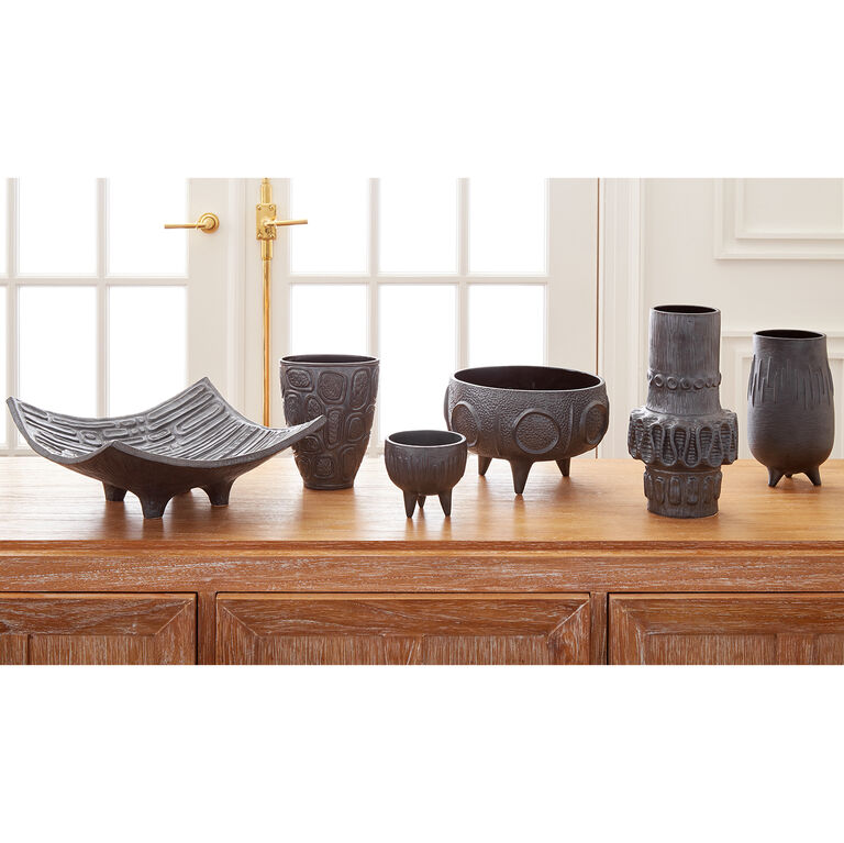 Holding Category for Inventory - Brutalist Small Footed Bowl