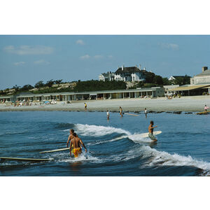 "Slim Aarons - Slim Aarons ""Rhode Island Surfers"" Photograph"