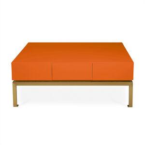 Peking Orange Cocktail Table Modern Furniture Jonathan