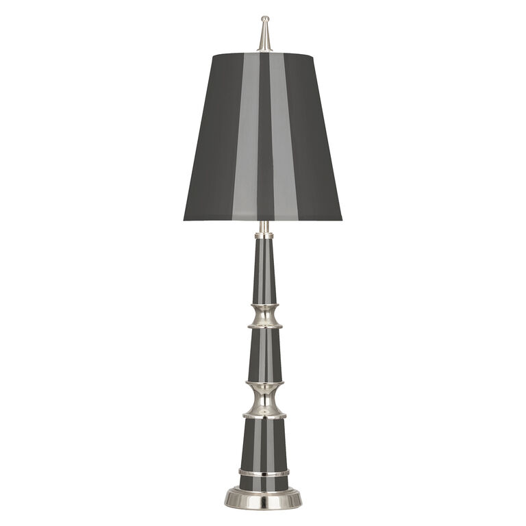 All New - Versailles Buffet Lamp in Nickel