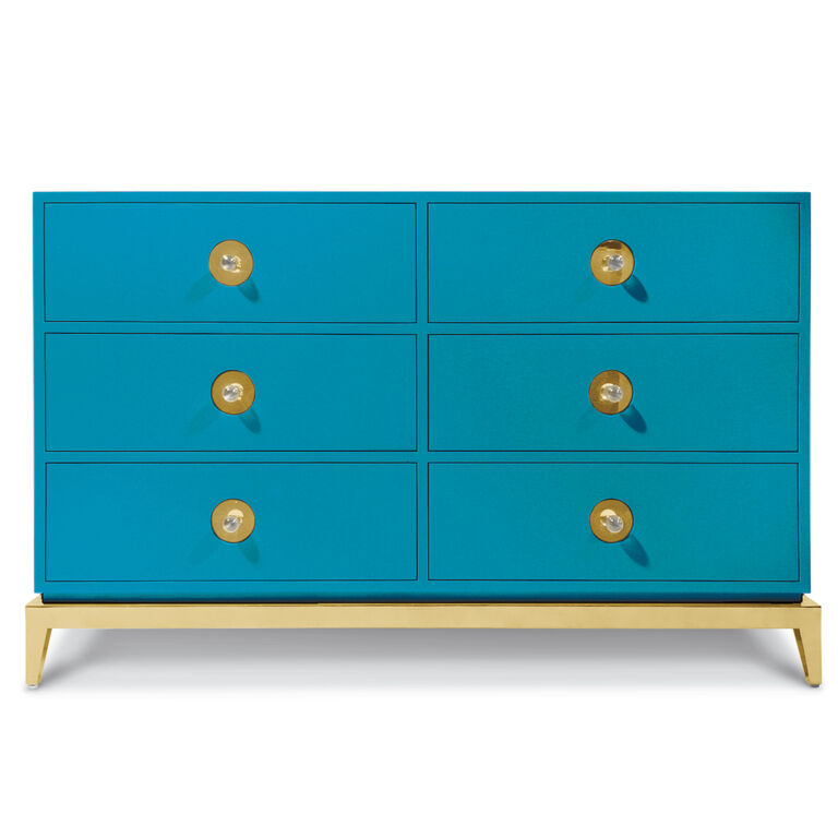 Consoles & Credenzas - Channing Six-Drawer Console