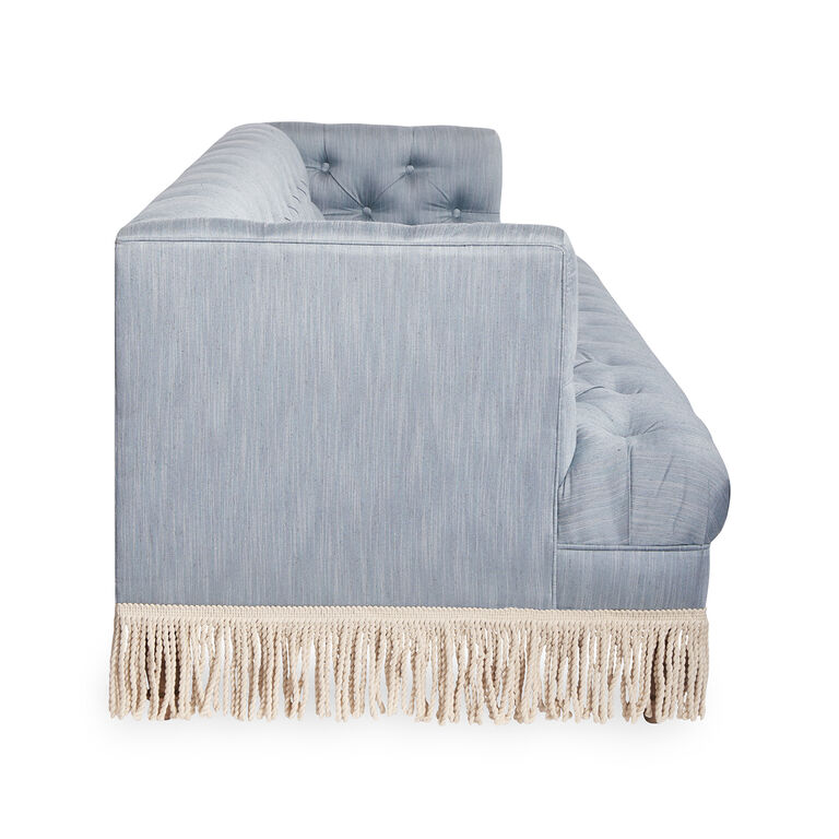 Jonathan Adler | Baxter T-Arm Sofa with Bullion Fringe 7