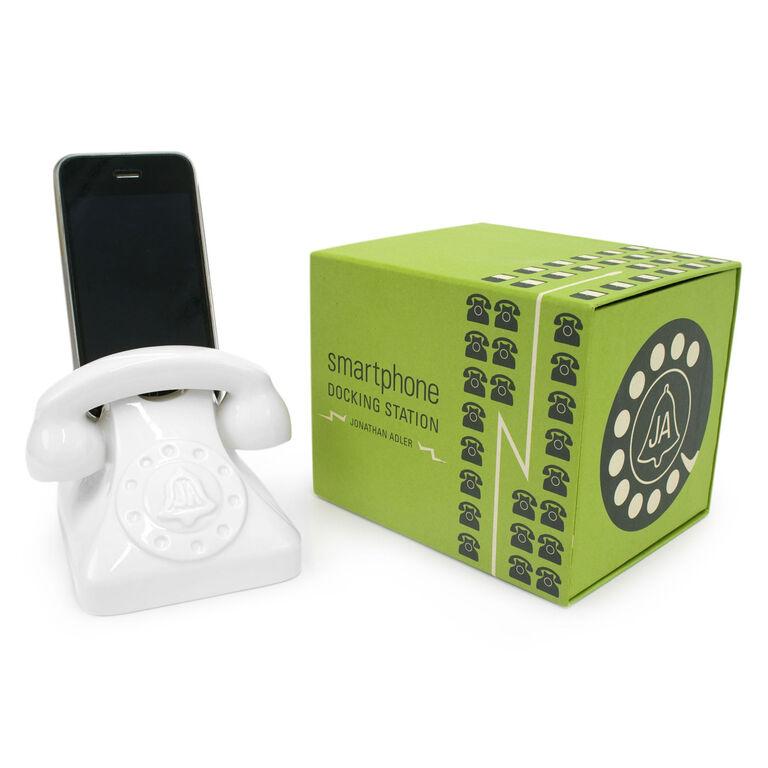 Travel - White Smartphone Dock