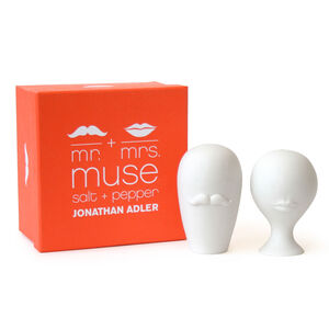 Salt & Pepper Shakers - Mr. & Mrs. Muse Salt & Pepper Shakers