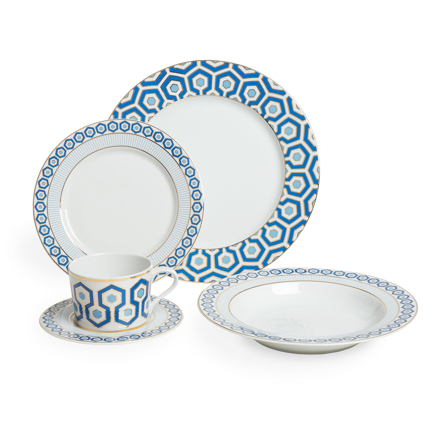 dinnerware sets newport fivepiece dinner set - Dishware Sets