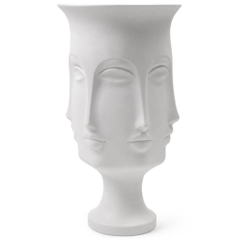 dora maar white ceramic urn pottery jonathan adler. Black Bedroom Furniture Sets. Home Design Ideas