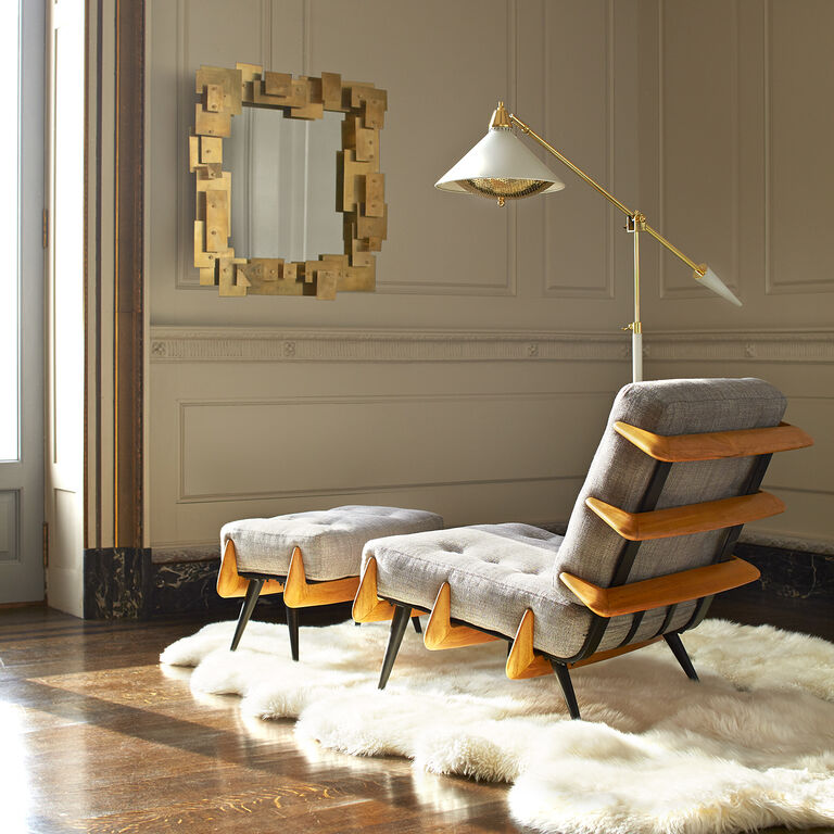 Warm Modernism - St. Germain Lounge Chair