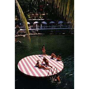 "Slim Aarons - Slim Aarons ""La Concha Beach Club"" Photograph"