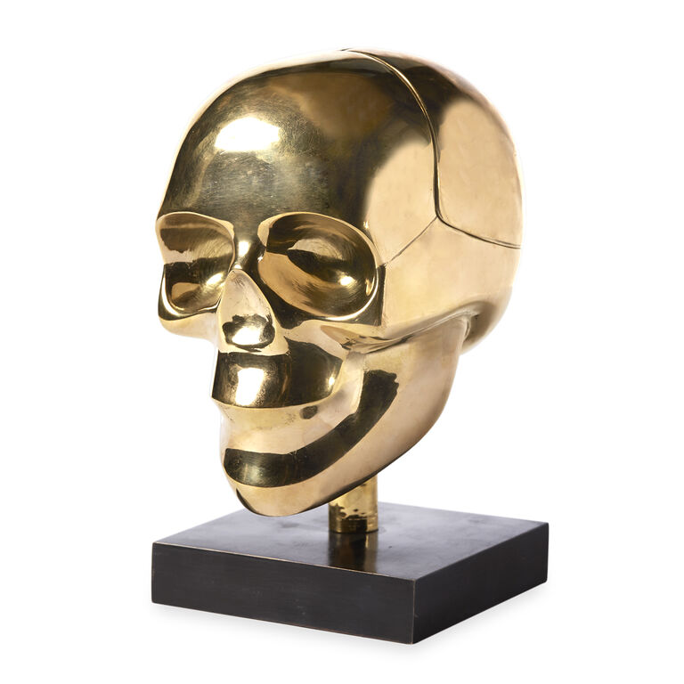 Decorative Objets - Brass Skull Box
